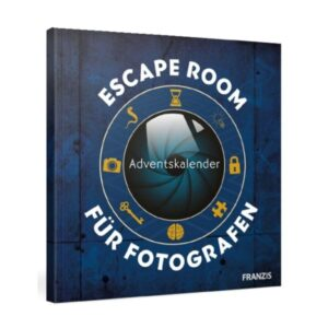 FRANZIS Escape Room Fotografie-Adventskalender 2021