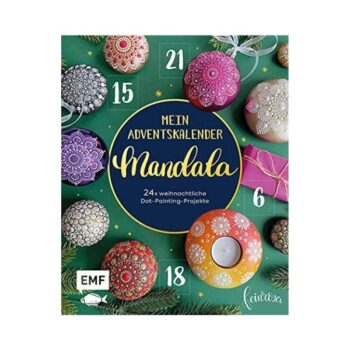 Mandala Adventskalenderbuch
