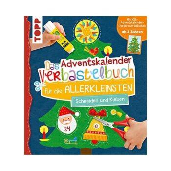 TOPP Das Adventskalender-Verbastelbuch für die Allerkleinsten