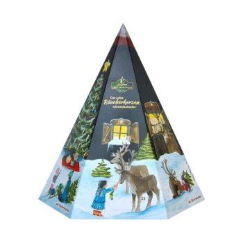 Räucherkerzen Adventskalender-Pyramide