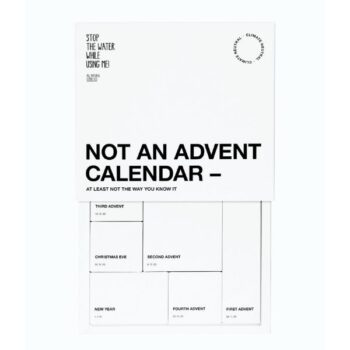 Stop The Water While Using Me Adventskalender 2021